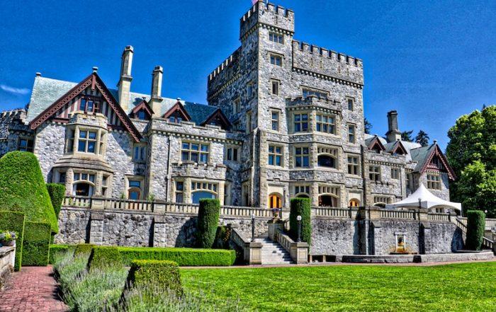 Hatley Castle, Victoria, BC Visitor in Victoria