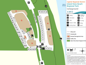 Island View Site map