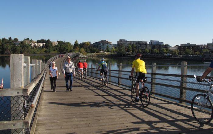 bikes in victoria, BC Visitor in Victoria