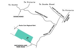Map to Matheson Lake