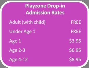 Playzone Rates