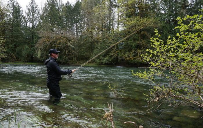 fishing, fly fishing, victoria, vancouver island fishing, cowichan river, BC