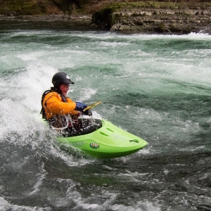 Whitewater paddling Victoria