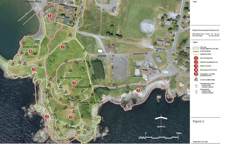 map of macauley point park