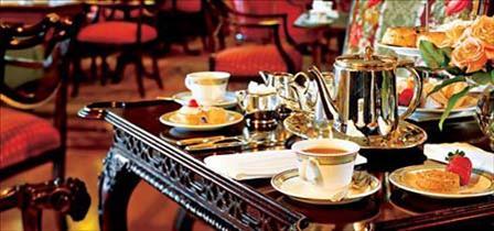 Tea at the Empress, Victoria, BC, YYJ