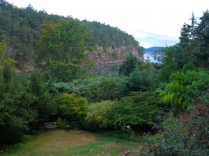 Saturna Lodge Gardens, Saturna Lodge, BC
