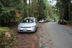 Parking on Finlayson Arm Rd for hike to Mt. Finlayson Linda Holland Visitor in Victoria