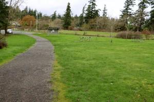 Devonian Park Picnic Area Victoria, BC Visitor in Victoria