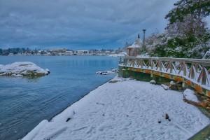 Westsong Walkway snow