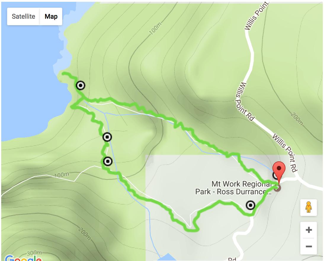 McKenzie Bight Map, Victoria, BC