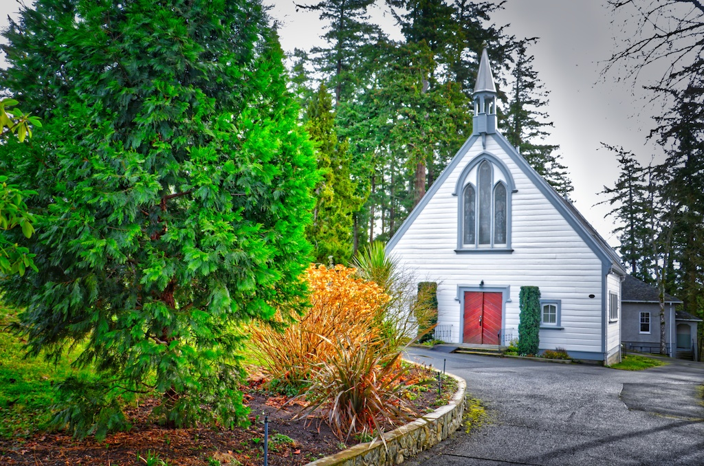 St Michael and All Angels Church Victoria, BC Visitor in Victoria
