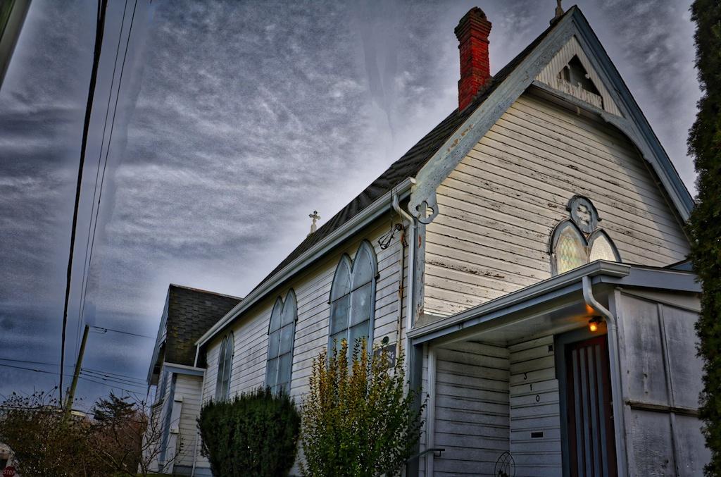 St Saviours Historic Church in Victoria, BC Visitor in Victoria