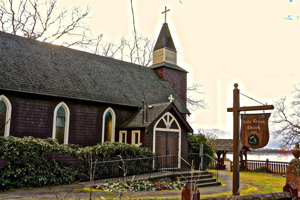 Holy Trinity Church Victoria, BC Visitor in Victoria