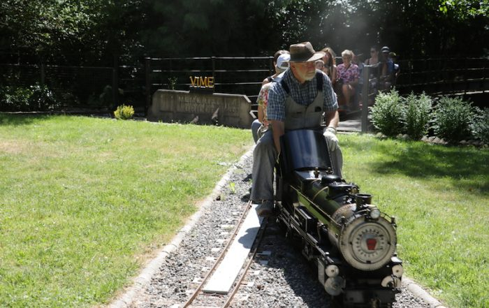 Train at Heritage Acres, Saanichton, BC