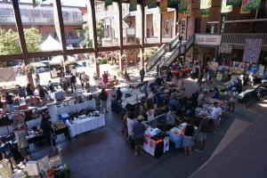 flea market in Market Square