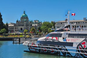V2V in Victoria's Inner Harbour