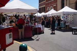 bastion square sunday market