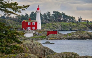 Fisgard lighthouse at Fort Rodd Hill National Historic Site