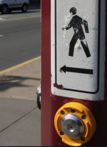 button for crosswalk