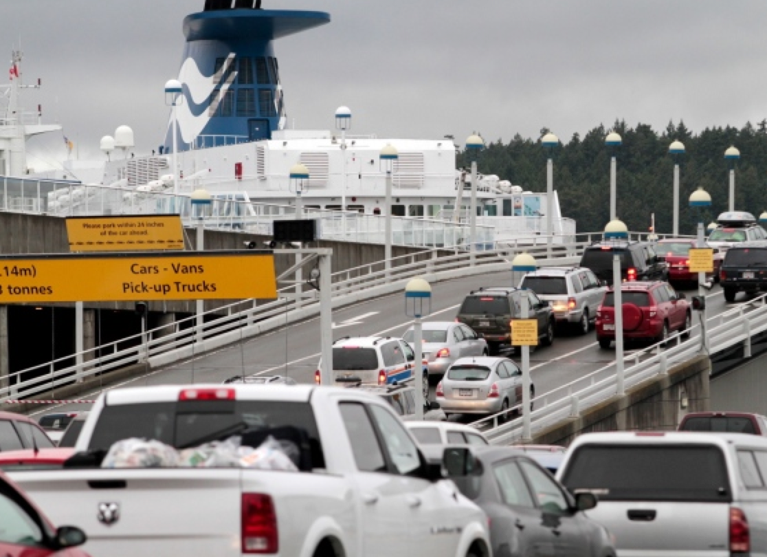 ferry & cars