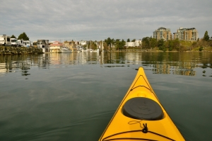 victoria from a kayak