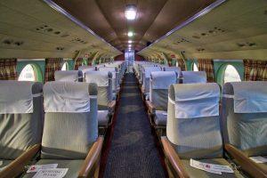 Passenger Cabin of Vickers Viscount