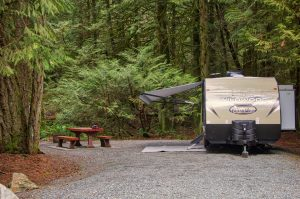 Goldstream Provincial Park Campground
