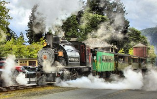 Alberni Pacific Steam Train