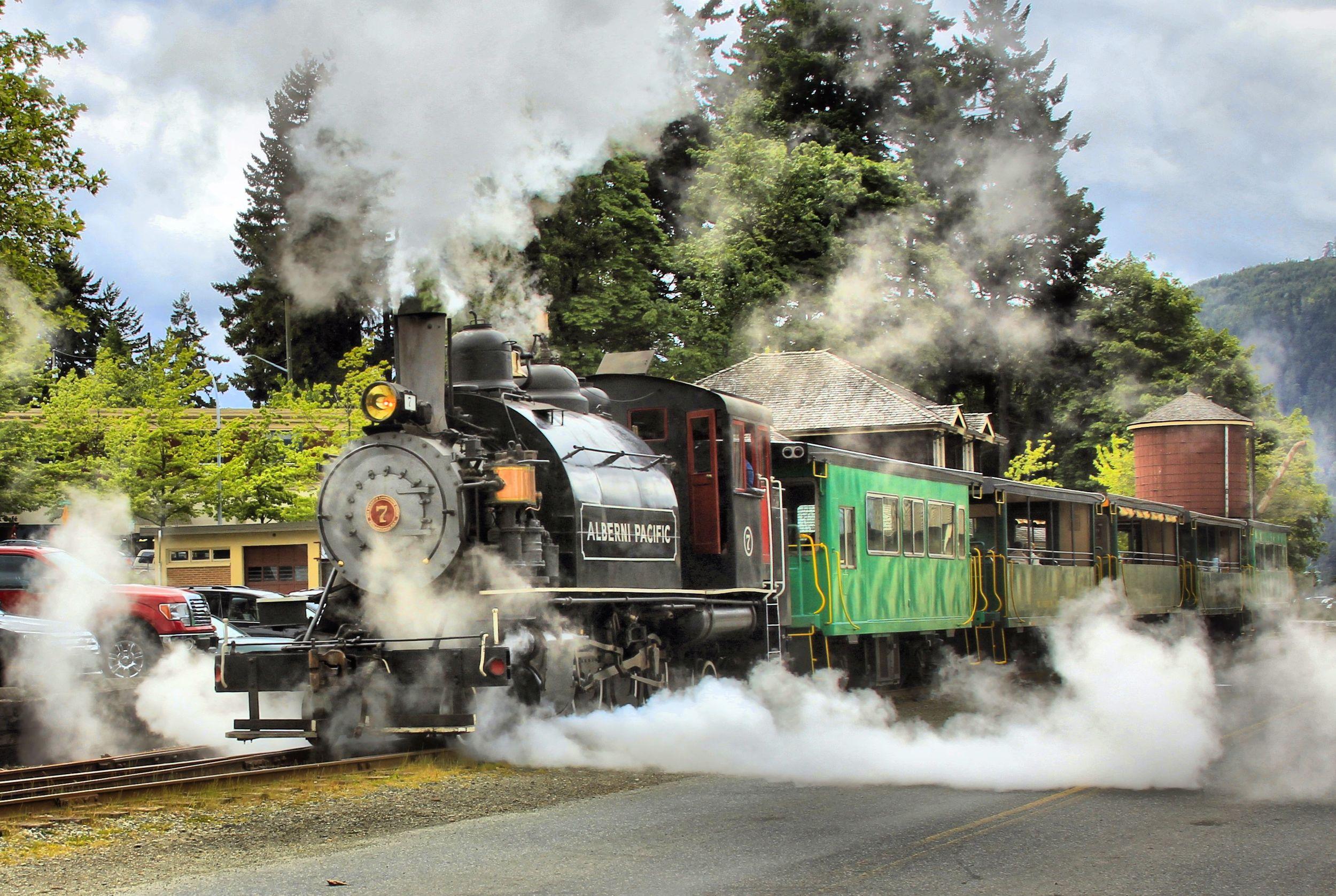 Alberni Pacific Steam Train