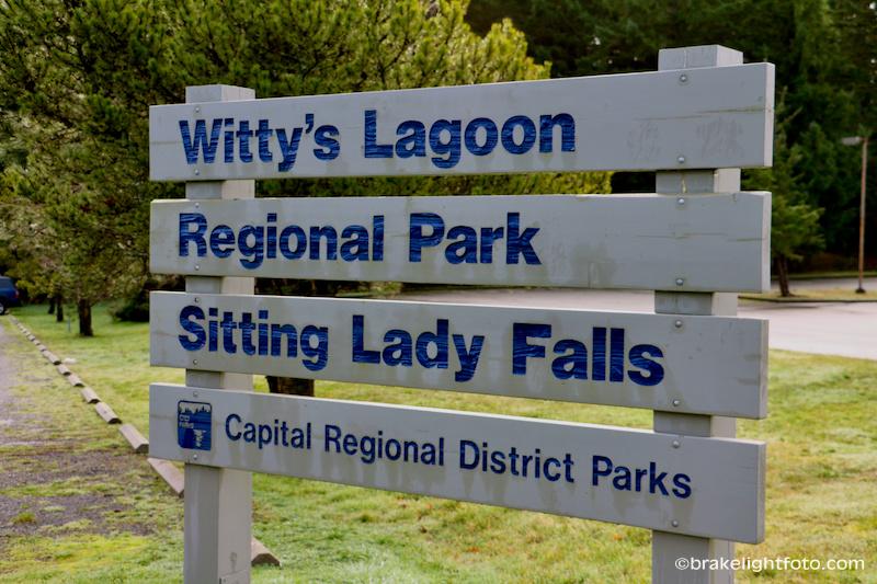Witty's Lagoon Sign