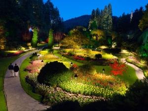 butchart gardens illuminated