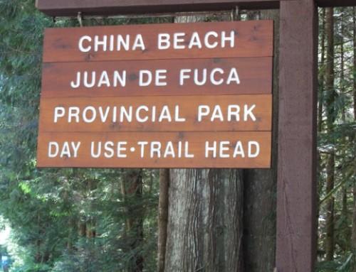 JUAN DE FUCA PROVINCIAL PARK – CHINA BEACH