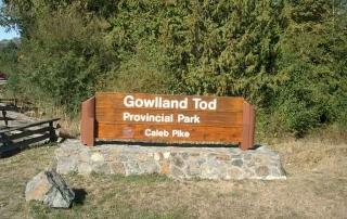 gowland tod provincial park