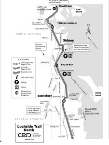 Lochside trail map