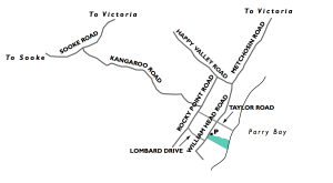 map to Devonian Park