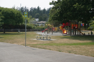 playground at Gorge park