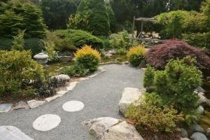 japanese garden at Gorge Park