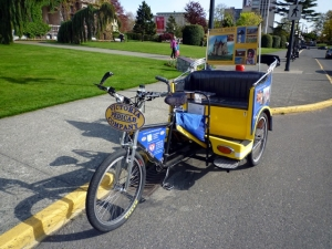 pedicab in Victoria