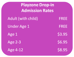 Playzone Rates