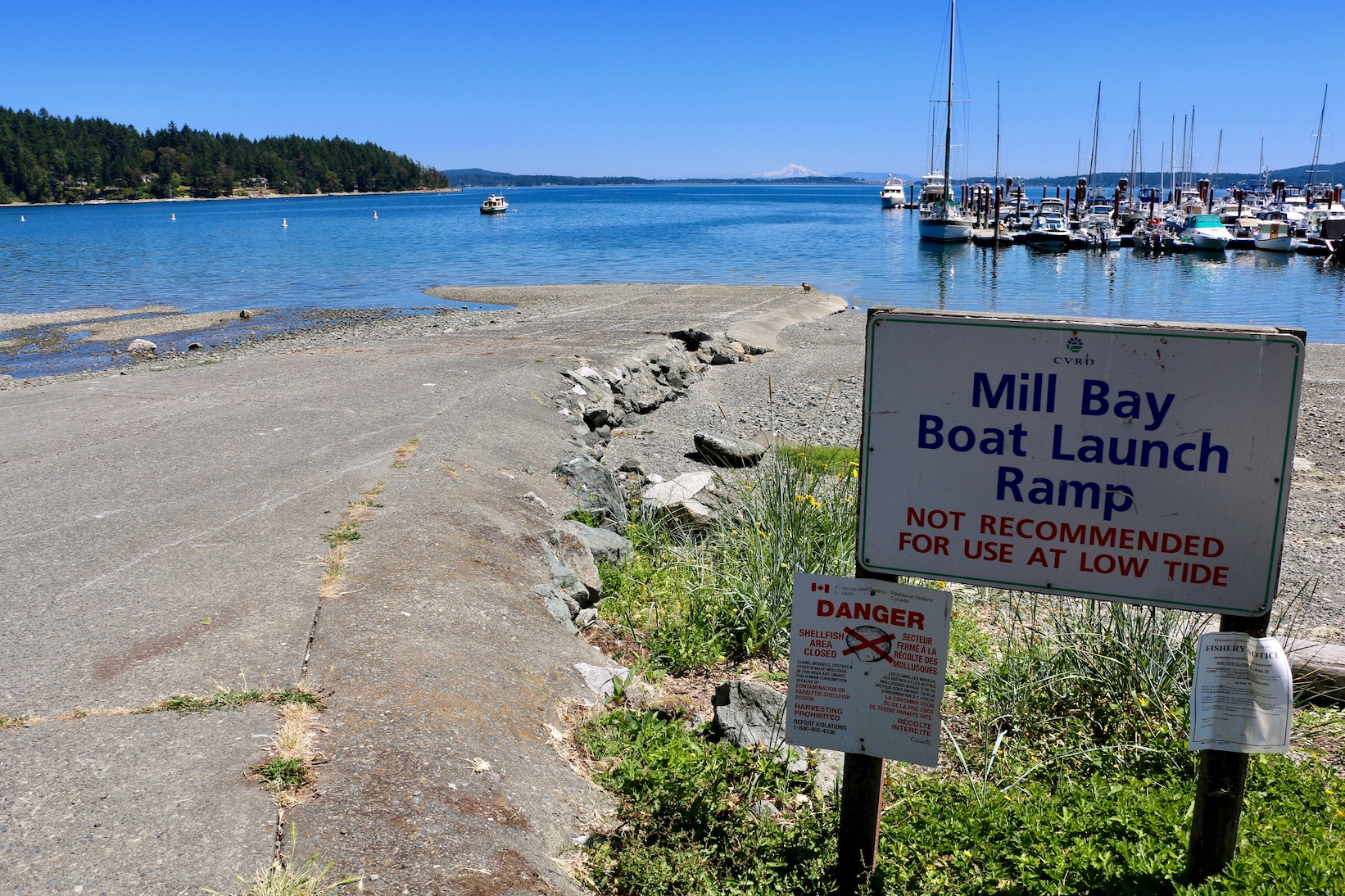 Mill Bay Boat Ramp