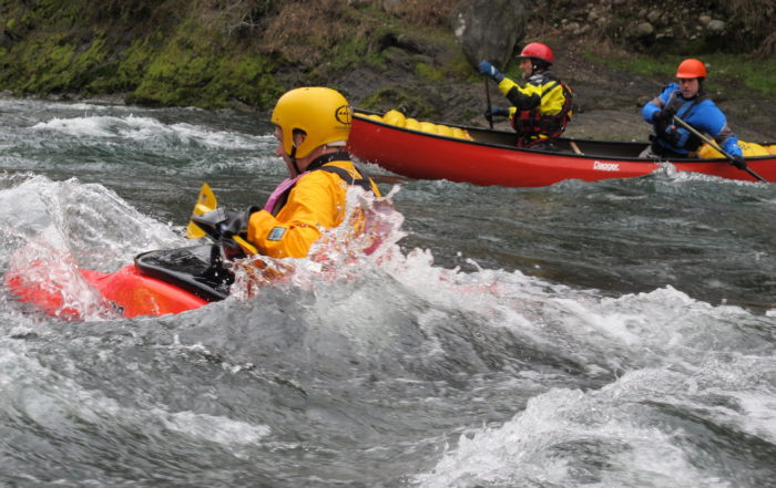 whitewater paddling vancouver island