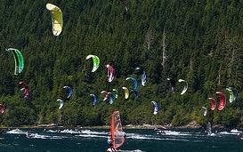 Nitinat Kiteboarding
