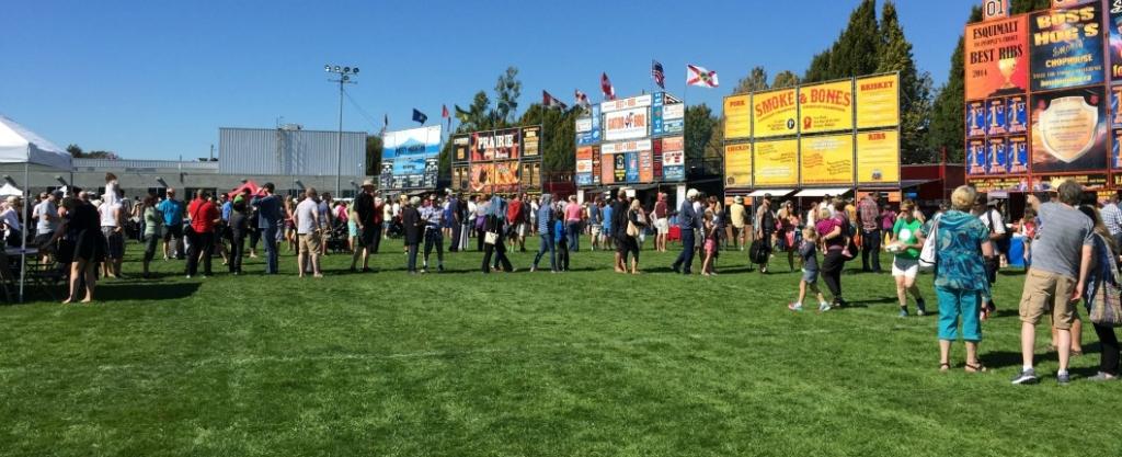 Ribfest in Esquimalt, BC, Victoria, BC, YYJ, Visitor in Victoria