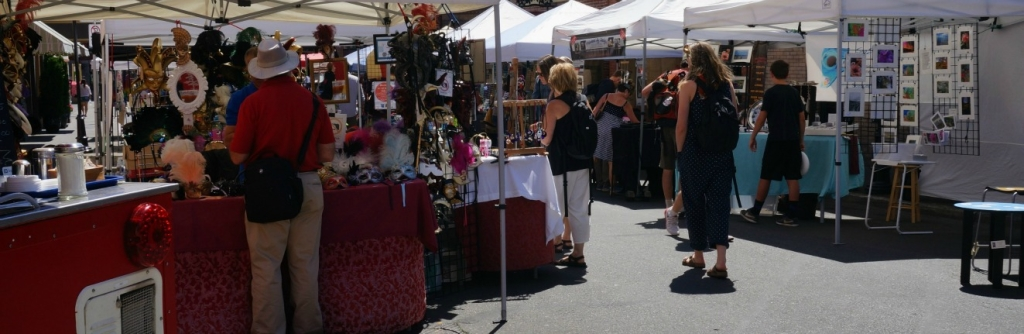 street market in Victori