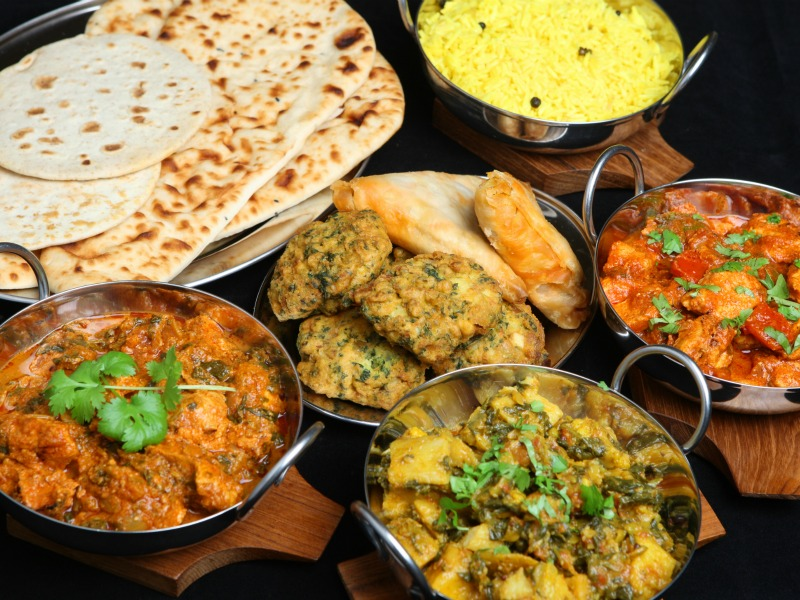 INDIAN – AFRICAN FOOD