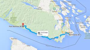 map to port renfrew