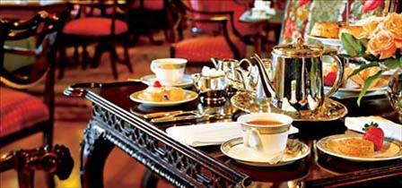 Tea at the Empress, Victoria, BC, YYJ