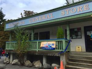 The Saturna General Store, Saturna Island, BC