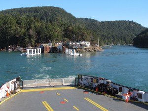 BC Ferry Terminal at Lyall Harbour, Saturna Island, BC