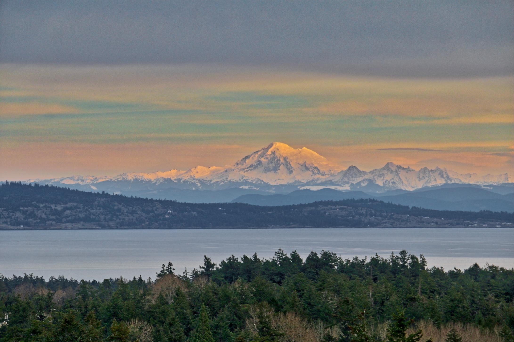 Mount Baker: Click to enlarge